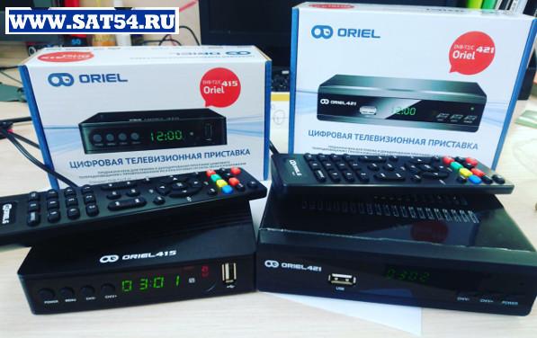 Фотография из обзора DVB-T2 DVB-C  ресиверов ORIEL 421, 415, 101 нового модельного ряда 2018г с   поддержкой IPTV, Youtube и Мегого.