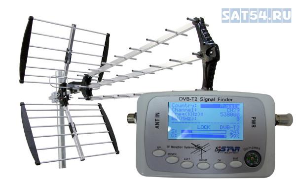 Как настроить спутниковую антенну? Купить прибор для настройки антенн в Новосибирске на SAT54.RU.