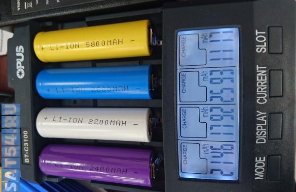 Купить аккумуляторы, батарейки, зарядные устройства в Новосибирске по низкой цене на SAT54.RU
