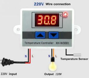Инструкция по подключению терморегулятора
