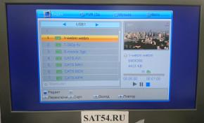 ТВ тюнер DVB-T2 Selenga T71. Смотрим видео с флэшки. з теста DVB-T2 приставок 2018года