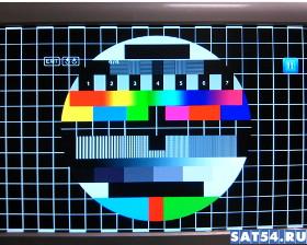 тестовая таблица на DVB-T2 приставке