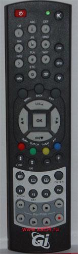 www.sat54.ru Цифровой спутниковый ресивер Golden Interstar S2030. Пульт дистанционного управления.