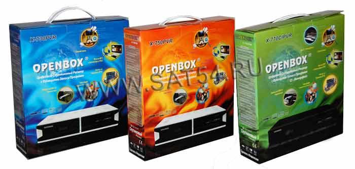 Цифровой спутниковый ресивер Openbox X-730 750 770 PVR с возможностью записи
