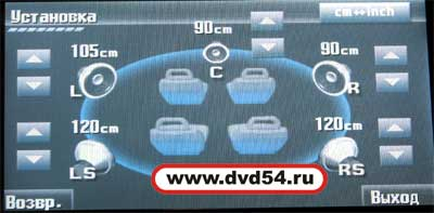 настройка фазовых сдвигов на jvc avx900 www.dvd54.ru
