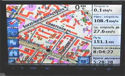 навигационный экран Мирком-200 на www.dvd54.ru