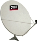 Офсетная спутник. антенна SVEC SCK120-PM/P/G  120*131см