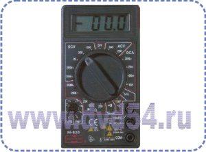 Цифровой мультиметр 838 Мастер, Mastech