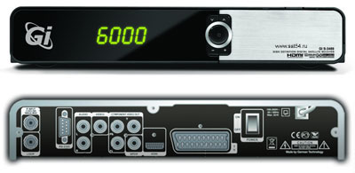 Цифровой ресивер GI S3489 HD CA2CI PVR