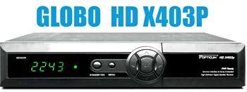 Спутниковый ресивер Globo HD X403P