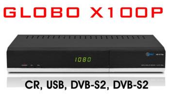 Спутниковый ресивер GLOBO  HD X100P
