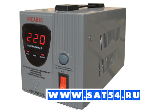 Стабилизатор напряжения для дома РЕСАНТА ACH-1000/1-Ц