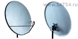 Спутниковая офсетная антенна СУПРАЛ CTB-0.8-1.1 0.7 St АУМ