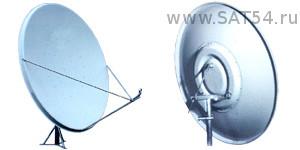 Спутниковая офсетная антенна СУПРАЛ CTB-1.8-1.2 2.5 AL АУМ