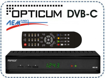 DVB-C ресивер OPTICUM HD XC2