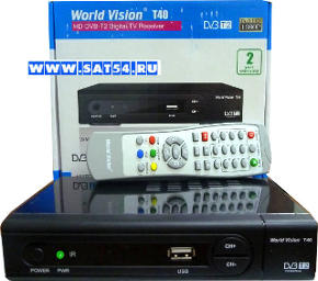 ресивер цифрового тв эфира World Vision T40
