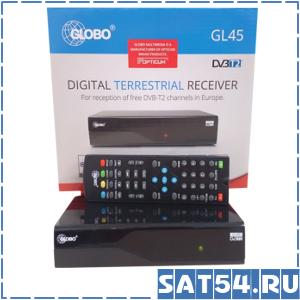 Приставка цифрового ТВ (DVB-T2)  GLOBO GL45