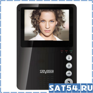 Видеодомофон  SVM-402 черный
