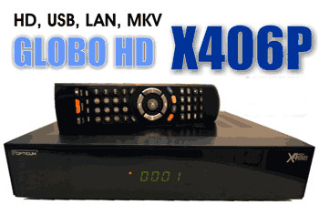 Спутниковый ресивер GLOBO HD X406P