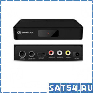 Приставка цифрового ТВ (DVB-T2) Oriel 101