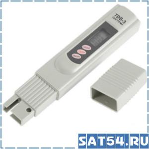 Портативный измеритель чистоты воды (солемер)  TDS-3