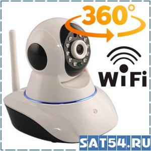 Wi-Fi IP камера Орбита SJG-W3 (видеоняня) (Android/ iPhone, встроенный микрофон) поворотная