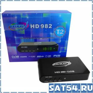 Приставка цифрового ТВ (DVB-T2) BAIKAL 982 HD