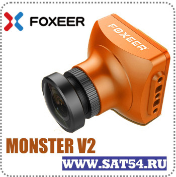 Мини камера Foxeer MonsterV2 с микрофоном и OSD