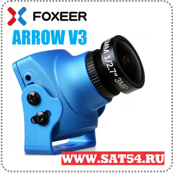 Миниатюрная видеокамера Foxeer Arrow V3 с OSD и микрофоном