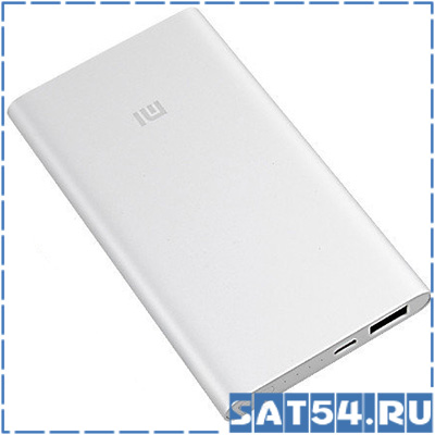 Power bank MI 1 (3500mAh, 5V, 1USB-1000mA, металл)