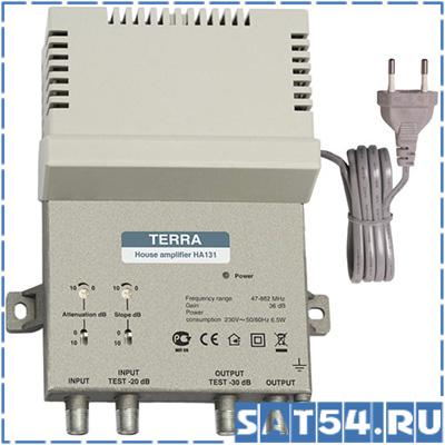 Усилитель ТВ Terra HA 131 36дБ