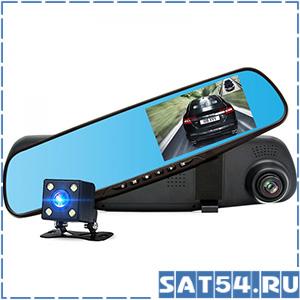 Автовидеорегистратор зеркало + камера HAD-39 (TDS TS-CAR10)