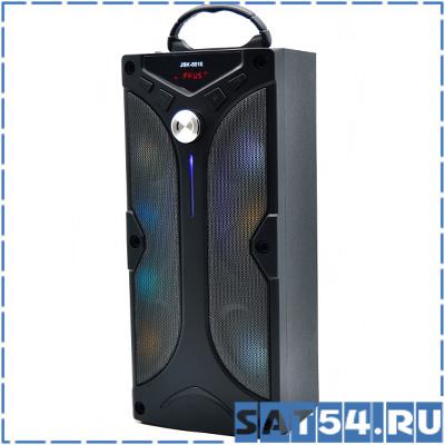 Мощная мультимедийная колонка JBK-8816 (350мм, 10W, TF, USB, FM, Bluetooth, MIC-6.3мм, 18650
