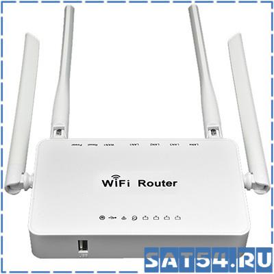 Wi-Fi роутер ZBT WE1626 поддержка 3G/4G модемов