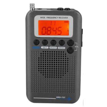 Цифровой мульти диапазонный радиоприемник HRD-737 . Диапазоны (Авиа,Сиби,FM,СВ,VHF)