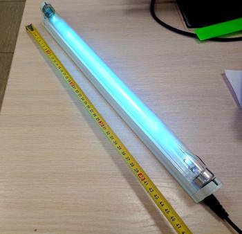 """Бактерицидный  кварцевый ультрафиолетовый облучатель с озоном 15Вт """"кварцевая лампа"""""""