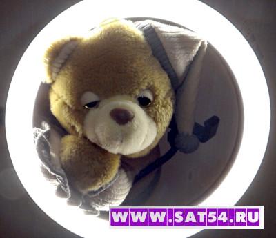 Кольцевая лампа 26см со штативом (120LED/пульт)