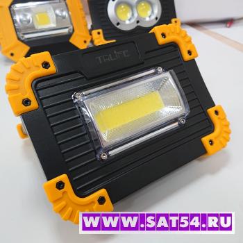 Аккумуляторный светодиодный переносной прожектор на мощном COB светодиоде TRLIFE 143
