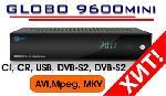 GLOBO 9600 Mini (LAN, MKV, DVB-S2)