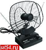 RX-102-3(1) антенна комнатная VHF, UHF, 47-860 MHz с усилением 36dB REXANT