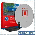Спутниковый комплект МТС ТВ с ресивером DVB-S EKT DSD 4404