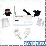 Охранная сигнализация с GSM модулем HD-201 беспроводная
