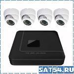 Комплект видеонаблюдения AHD.