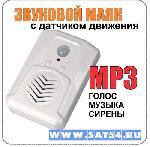 Звуковой маяк с датчиком движения. (MP3, голос,музыка )