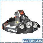 Фонарь налобный BORUIT RJ-1156
