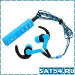 Беспроводные наушники с гарнитурой ST-006 (Bluetooth) (работа до 8ч, зарядка до 2ч)