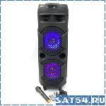 Активная колонка Faus SJ2801 с микрофоном и аккумулятором USB/SD/Bluetooth/FM/AUX