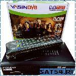 DVB-T2/C приставка Yasin T5000C (металл/дисплей/кнопки/кабель RCA) поддерж WIFI адапт.(IPTV/YouTube/Gmail)