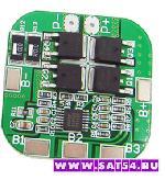 Контроллер заряда-разряда для 4-х Li-Ion аккумуляторов 18650 (плата BMS 4S 20A)